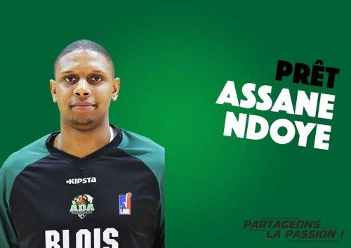 Assane Ndoye va rempiler à Blois