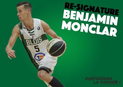 Benjamin Monclar resigne à l'ADA