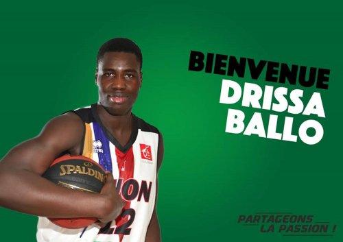 Drissa Ballo va rejoindre l'ADA Basket