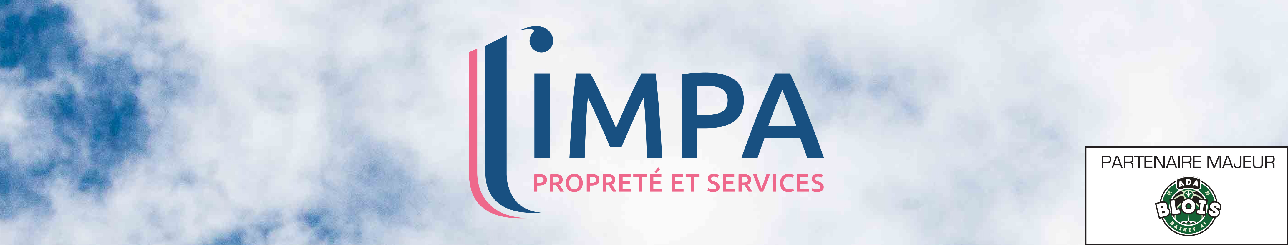LIMPA, partenaire majeur de l'ADA BLOIS BASKET
