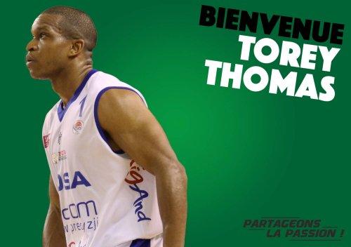 Torey Thomas, nouveau meneur blésois !