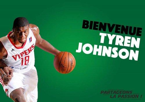 Tyren Johnson nouveau poste 4 de l'ADA Blois Basket